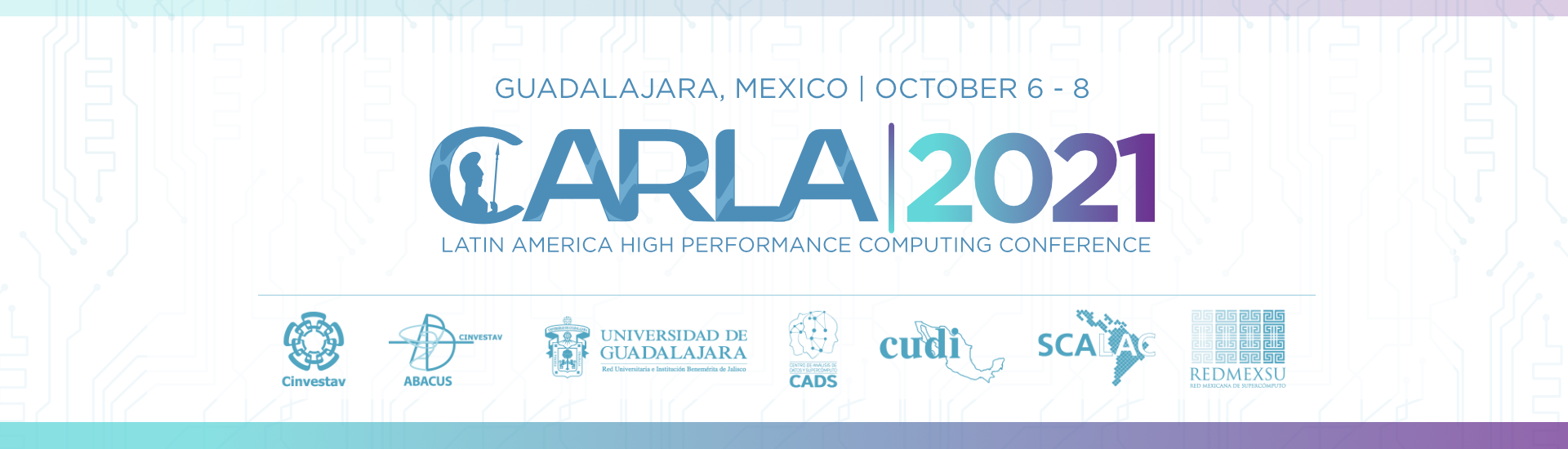 CARLA 2021 - GUADALAJARA. MEXICO. October 6-8